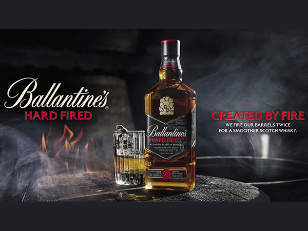 Ballantines hard fire